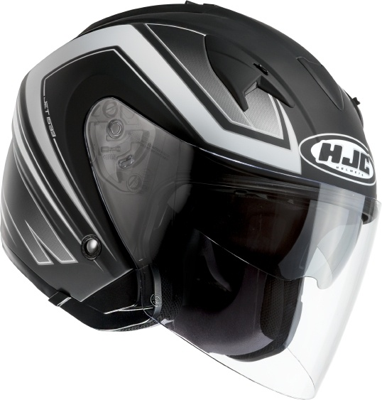 KASK HJC IS-33 COMBI MC5F 1 otwarty JET blenda