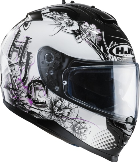 KASK HJC IS-17 BARBWIRE MC31 integralny z blendš + pinlock (anti