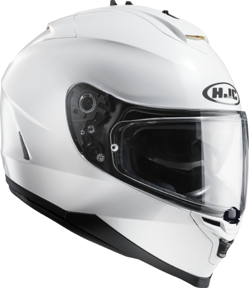 KASK HJC IS-17 METAL PEARL WHITE RYAN integralny z blendš + pinl