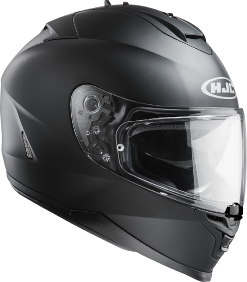 KASK HJC IS-17 RUBBERTONE BLACK integralny z blendš + pinlock (a
